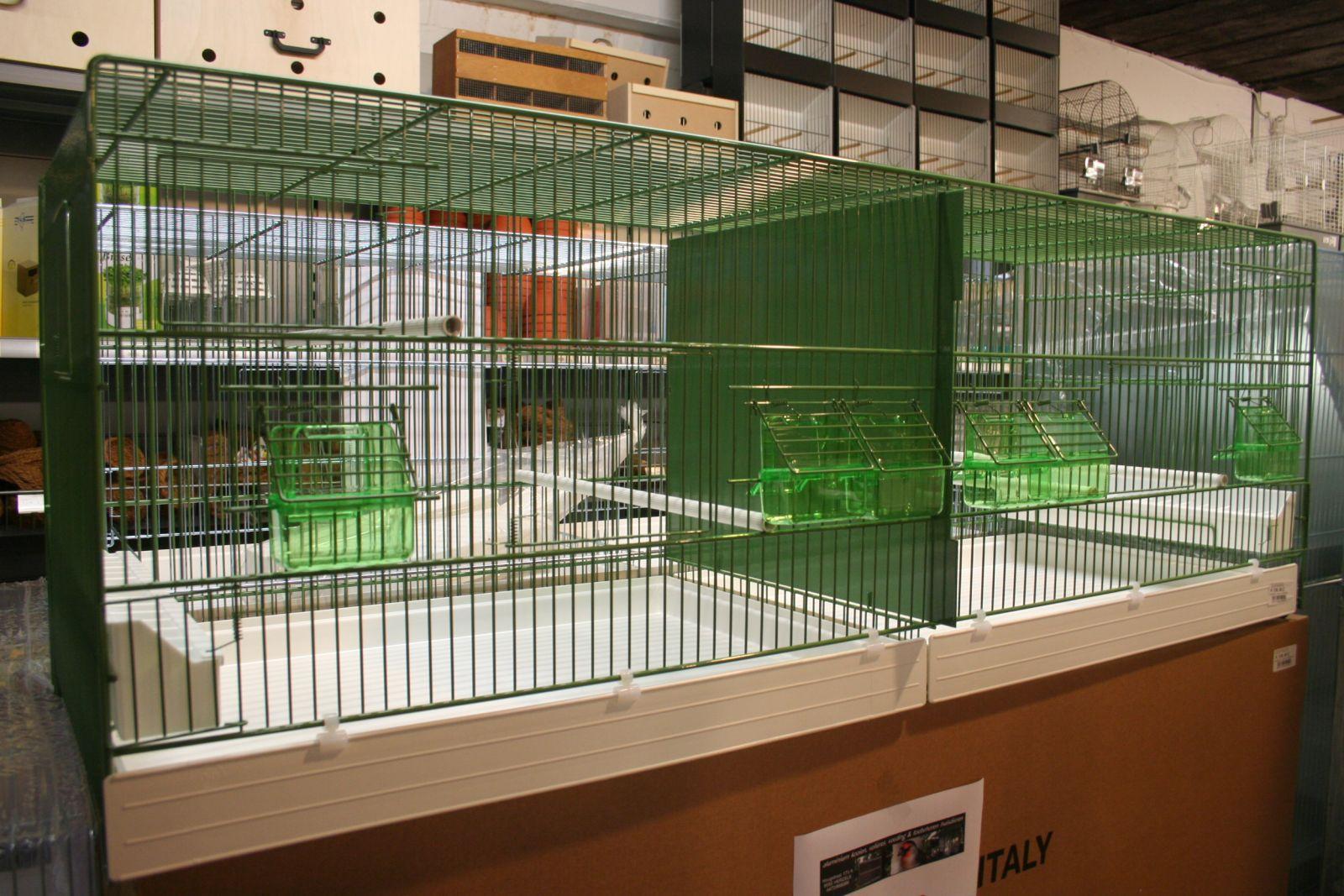 draadkooi groen b120 x d40 x h45cm