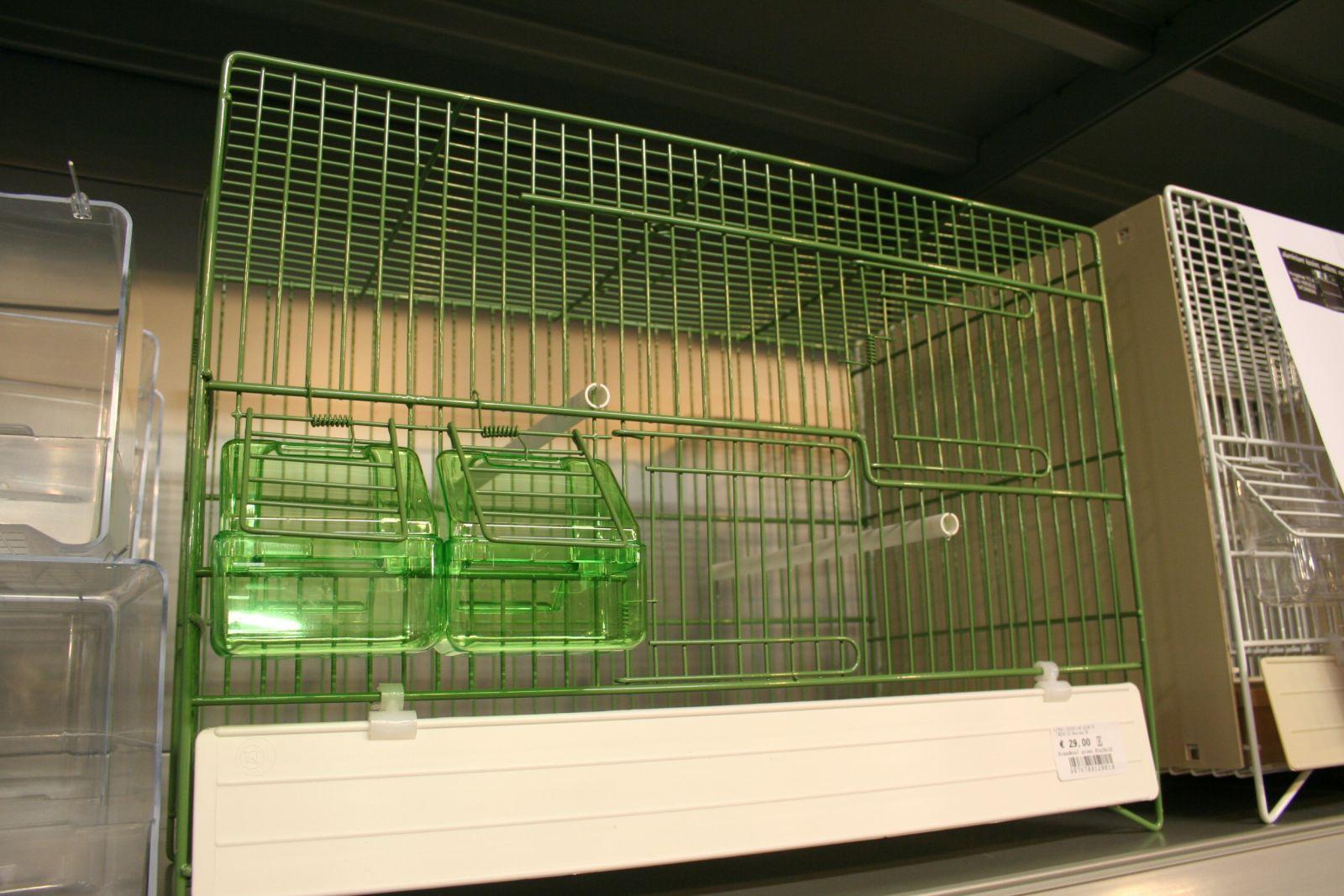 draadkooi groen b45 x d25 x h32cm