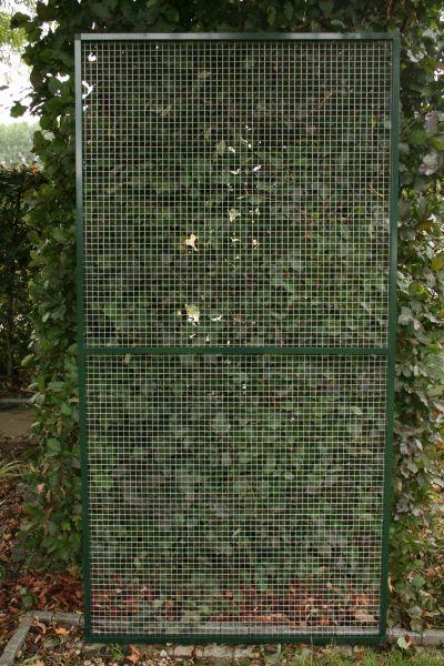 paneel groen  alu 102 x 200cm met draad 19 x 19 x 1,45mm