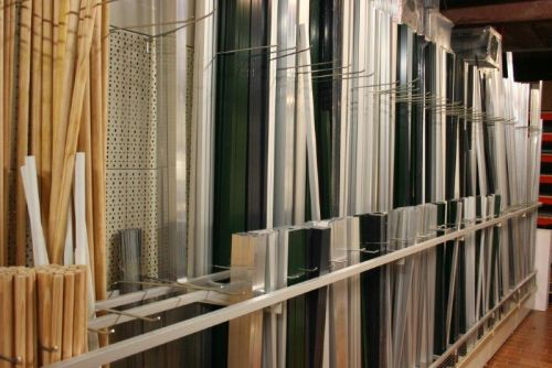 afdeling aluminiumprofielen (prijzen te zien via rubriek assortiment & prijzen)