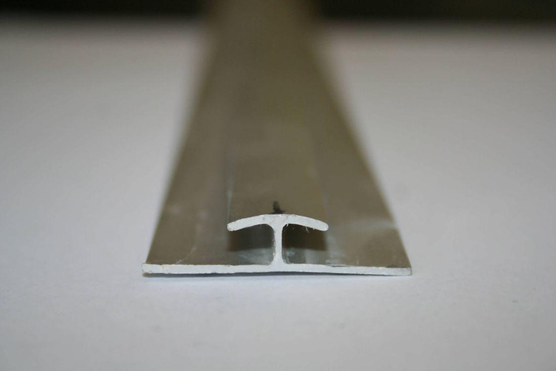 verbindingsprofiel geanodiseerd voor platen tot 4mm