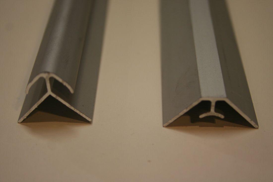 hoekprofielen geandiseerd voor platen tot 4mm