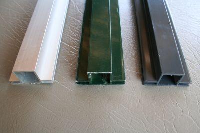 profielen 20 x 20 x 1,5mm met 2 flens vlak 3 of  4mm