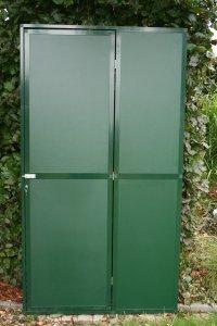 volledig gesloten deurpaneel met acp